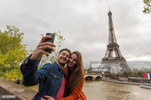 Paris Vacation Self Portrait