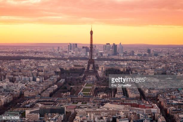 Paris vue du ciel