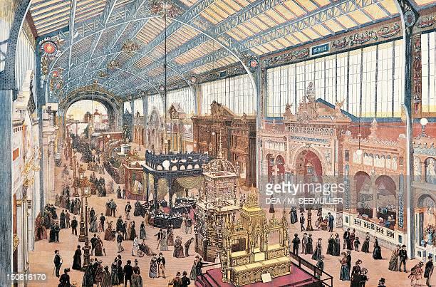 Paris World Fair 1889 France 19th century