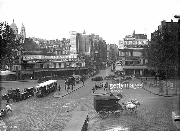 Paris XVIIIth district The Delta place About 1930