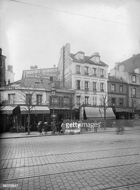 Paris XXth district The place Auguste Metivier about 1930