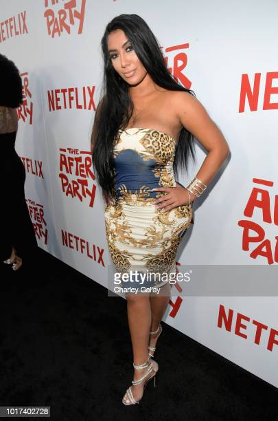 Parisa Amiri attends Netflix's 'The After Party' special screening on August 15 2018 in Los Angeles California