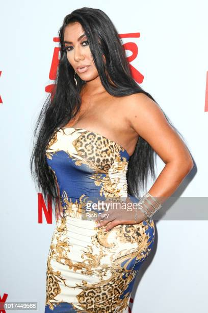 Parisa Amiri attends the screening of Netflix's 'The After Party' at ArcLight Hollywood on August 15 2018 in Hollywood California