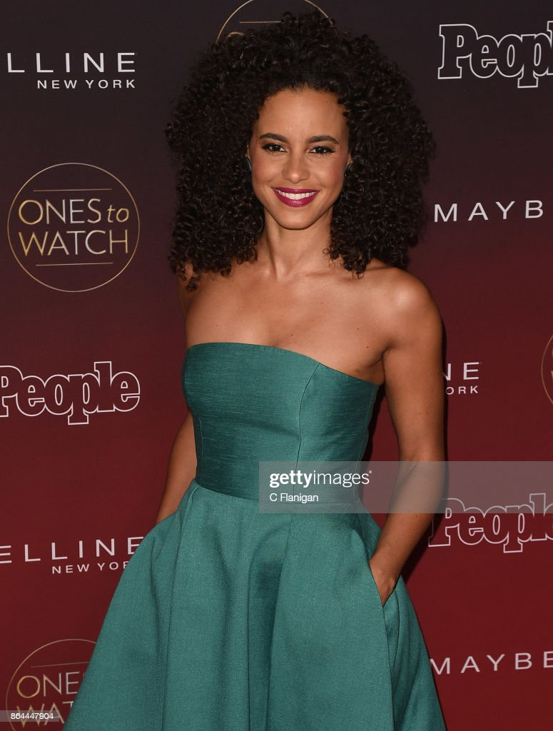 Parisa Fitz-Henley attends People's 'Ones to Watch' at NeueHouse Hollywood on October 4, 2017 in Los Angeles, California.