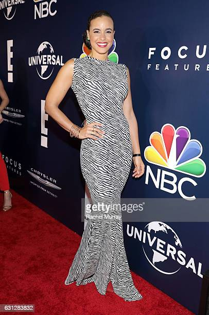 Parisa FitzHenley attends the Universal NBC Focus Features E Entertainment Golden Globes after party sponsored by Chrysler on January 8 2017 in...