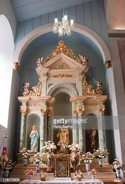 Parish church altar