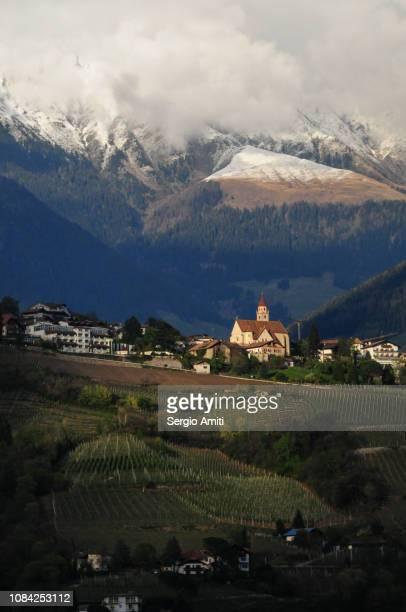 Parish church in Tirolo
