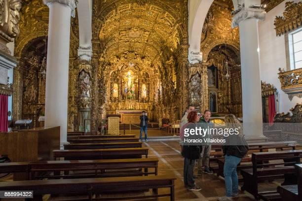 Parish Church of Matosinhos during the visit by participants of Gastronomic FAM Tour on December 02 2017 in Matosinhos Portugal Gastronomic tours are...