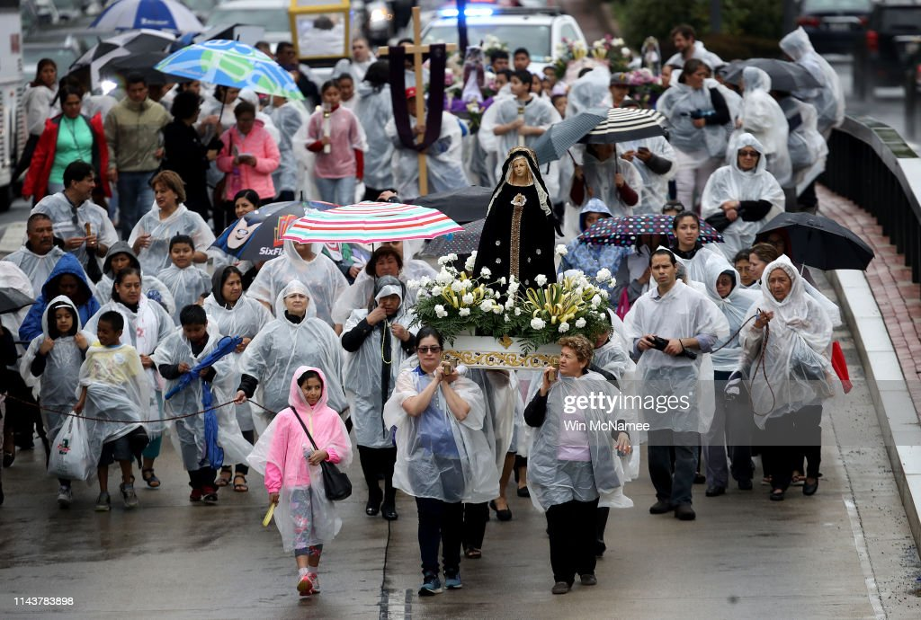 DC: Good Friday Is Celebrated With The Way Of The Cross Procession