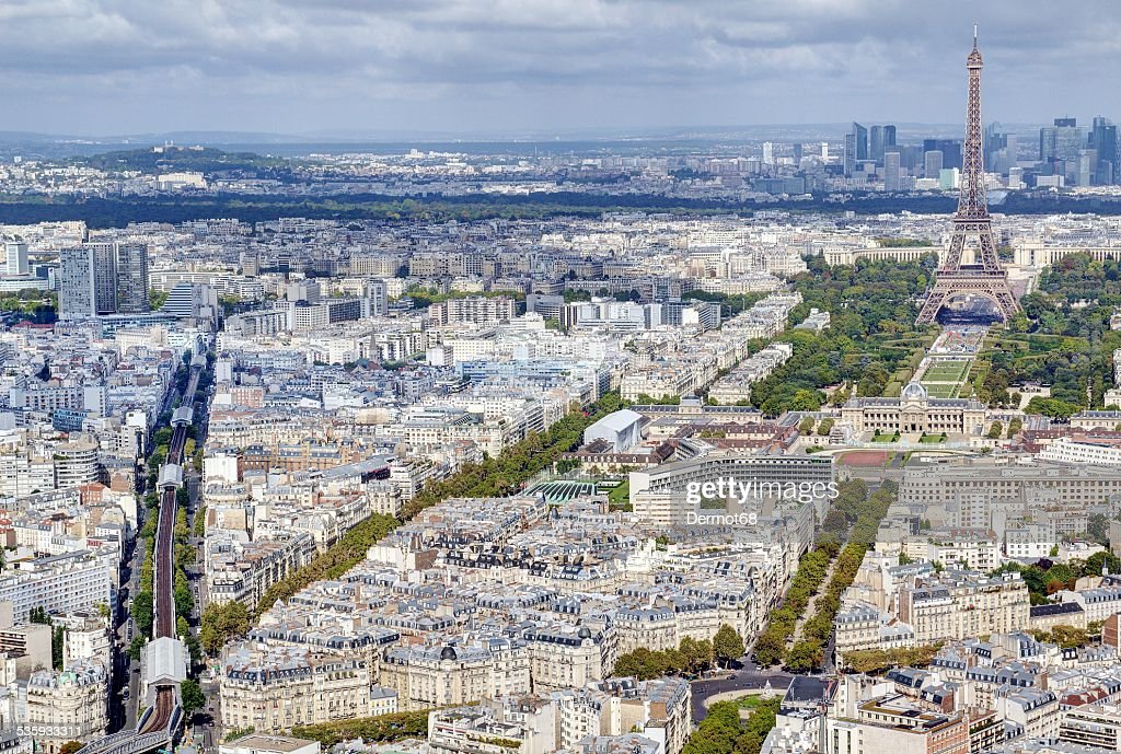 Parisian cityscape : Stock Photo