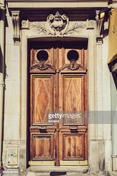 Parisian classic double door
