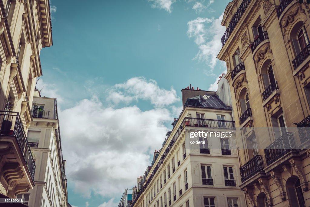 Parisian historic buildings : Stock-Foto