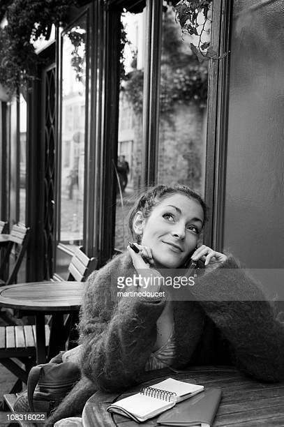 """parisiense vida serie - """"martine doucet"""" or martinedoucet imagens e fotografias de stock"""