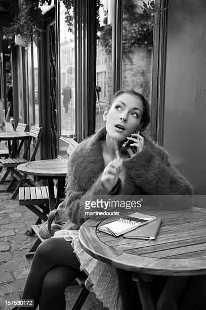 """serie parisino vida - """"martine doucet"""" or martinedoucet fotografías e imágenes de stock"""