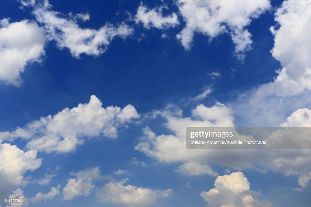 Parisian sky : Stock-Foto