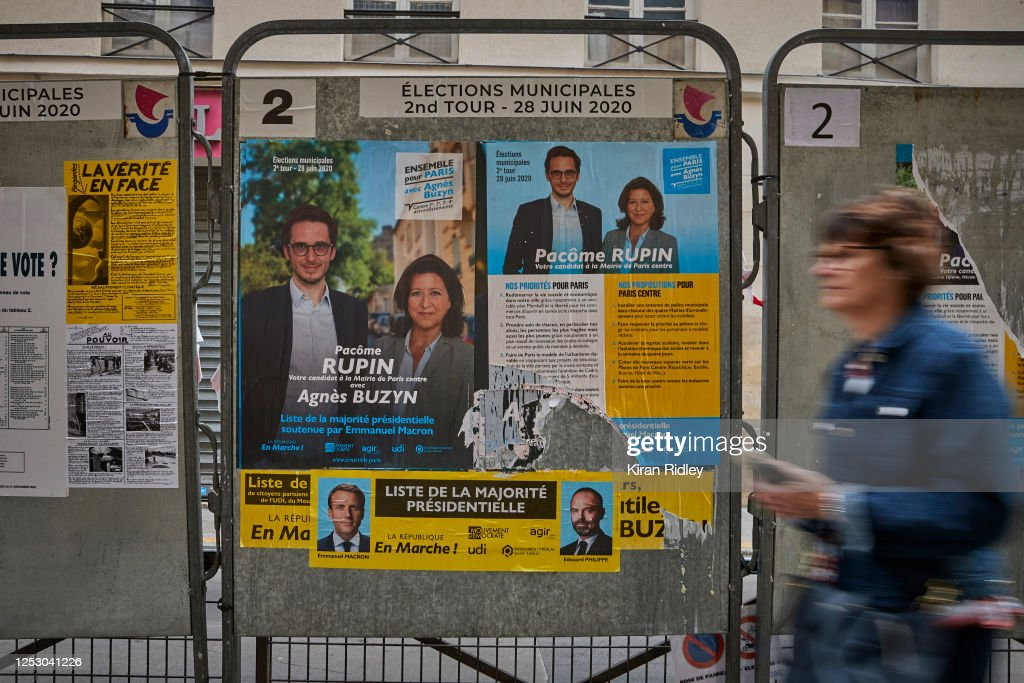 France Votes In Second Round Of Municipal Elections : News Photo
