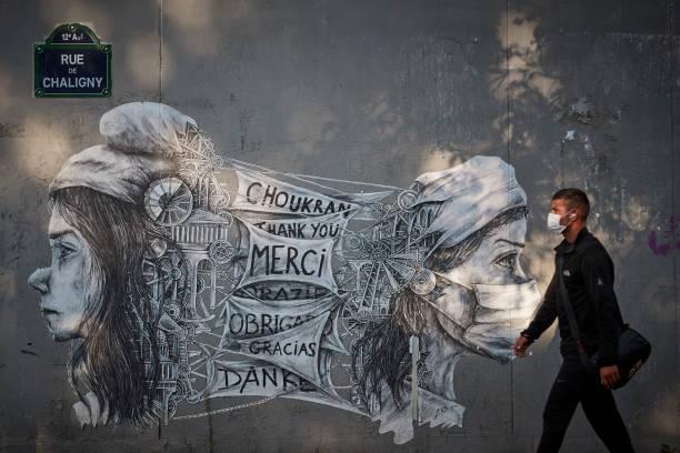 FRA: Paris In Times Of Coronavirus