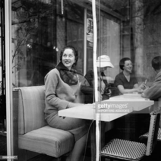 Parisian Woman in Paris France In 1950