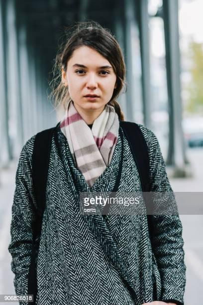 Portrait de jeune parisienne à Paris