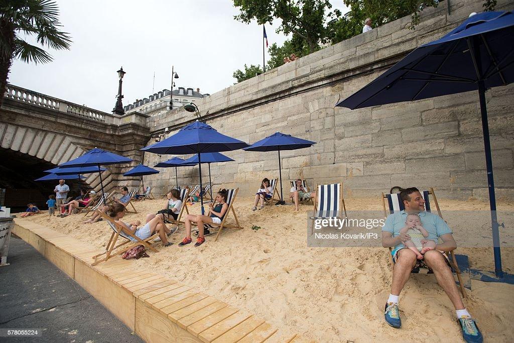opening of paris plages 2016の写真およびイメージ ゲッティイメージズ