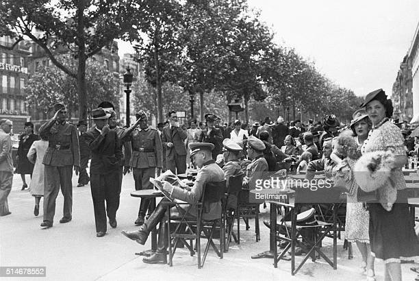 Parisians spend the first Bastille Day under Nazi occupation quietly