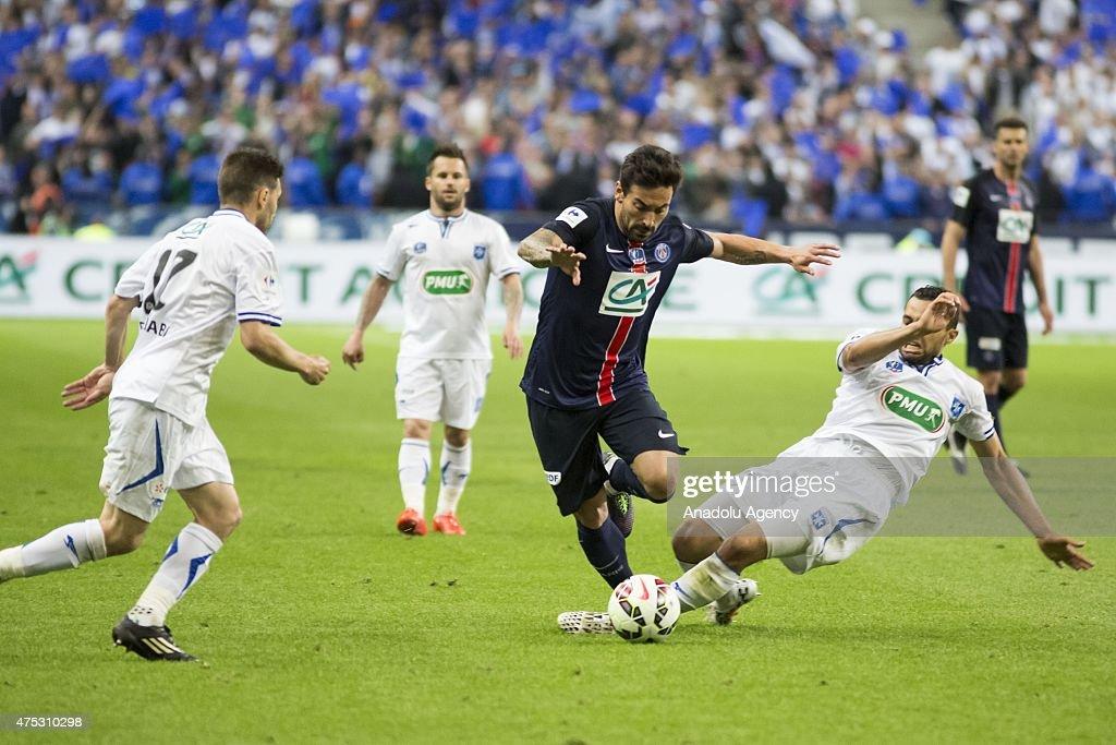 Paris Saint-Germain v AJ Auxerre - French Cup Final : News Photo