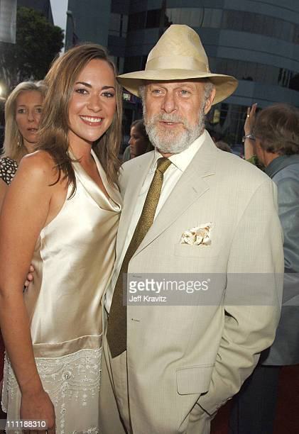 Parisse Boothe and Gerald McRaney during Deadwood Season Premiere Red Carpet at Cinerama Dome in Hollywood California United States
