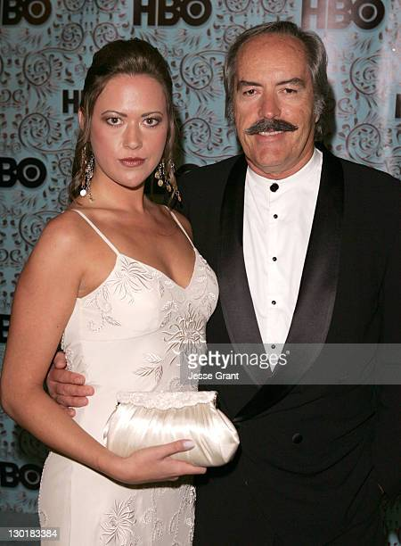 Parisse Boothe and Powers Boothe during The 57th Annual Emmy Awards HBO After Party in Los Angeles California United States