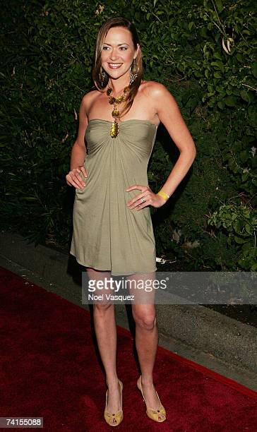 Parisse Boothe arrives at Aly AJ's Birthday Party at Les Deux nightclub on May 14 2007 in Los Angeles California