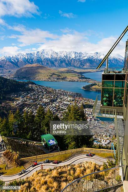 SKYLINE park and view over Queenstown