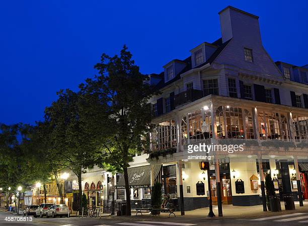 park avenue at state college - state college pennsylvania stock photos and pictures
