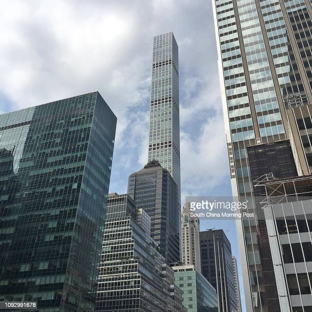432 Park Avenue in New York City USA is the tallest residential building in the world Chinese tycoon Guo Wengui claimed to own a unit in the building...