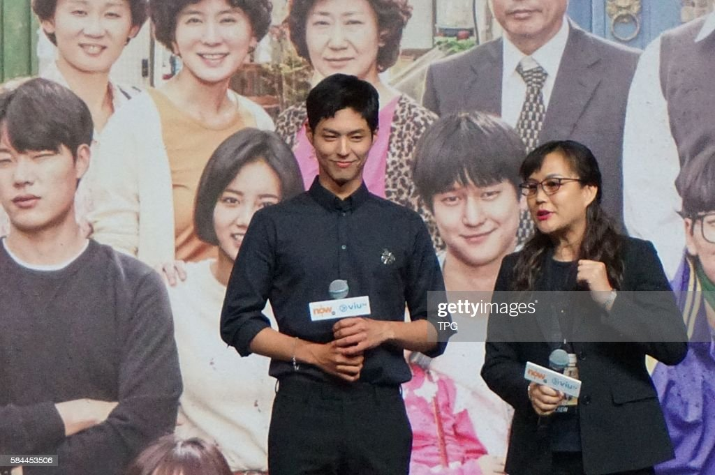 Park Bo Gum comes to HK for the promotion of ViuTV drama