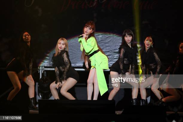 Park Bom, the former lead singer of 2NE1 held fan meeting conference on 11 August, 2019 in Taipei,Taiwan,China.