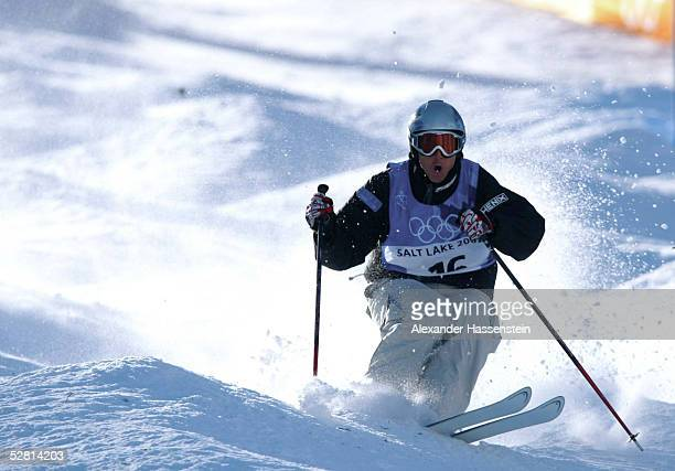 CITY 2002 Park City BUCKELPISTE/MAENNER/QUALIFIKATION Jonny MOSELEY/USA