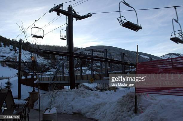 Park City Lift during 2005 Sundance Film Festival - Atmosphere - Day 8 in Park City, Utah, United States.