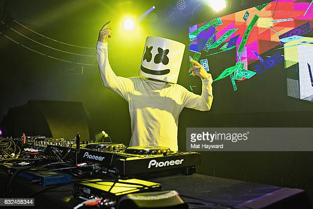 Park City Live presents night three of Snow Fest featuring Marshmello at Park City Live on January 22 2017 in Park City Utah