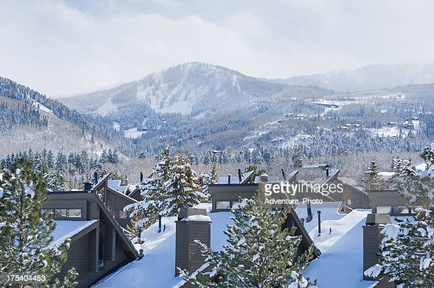 park city mountain view - park city utah stock pictures, royalty-free photos & images