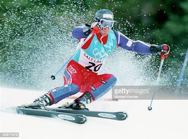 Park City; SLALOM/MAENNER; Alain BAXTER/GBR - BRONZE - nachtraeglich wegen Dopings disqualifiziert