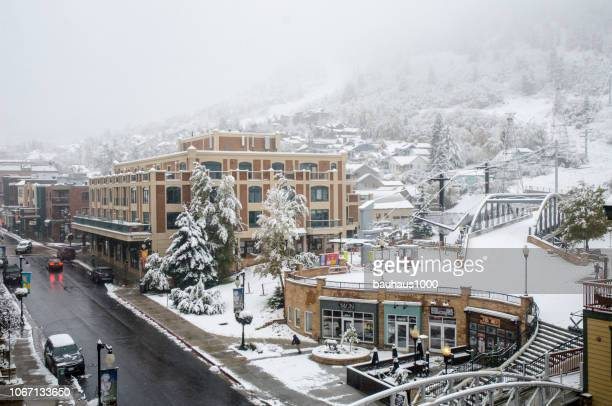 park city, utah - park city utah stock pictures, royalty-free photos & images