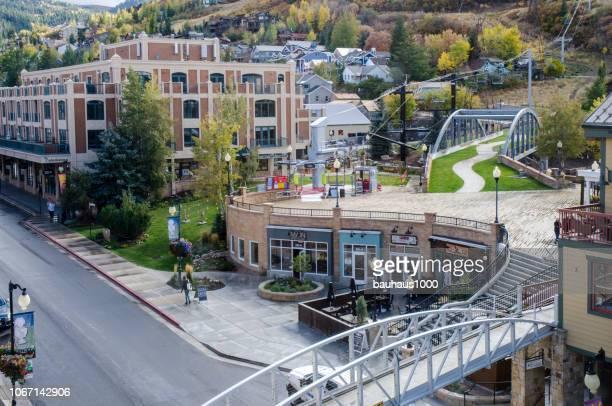 パークシティ、ユタ州 - ユタ州 パークシティ ストックフォトと画像