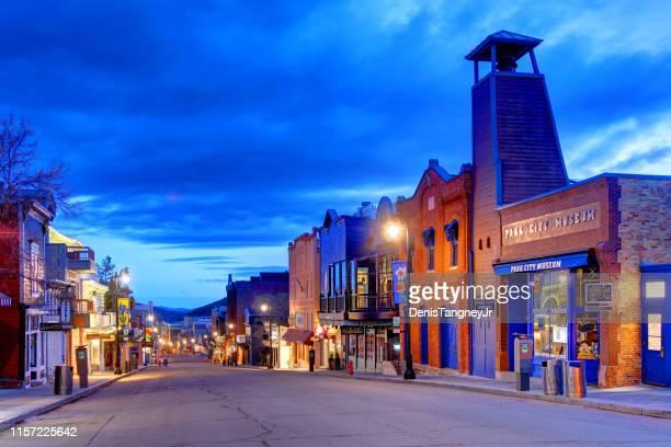 パークシティ (ユタ州) - ユタ州 パークシティ ストックフォトと画像