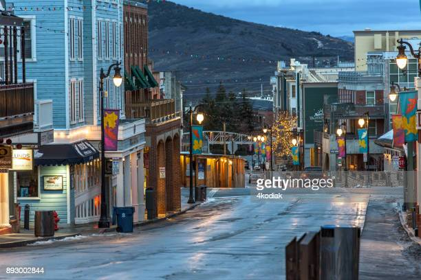 park city, utah - utah stock pictures, royalty-free photos & images