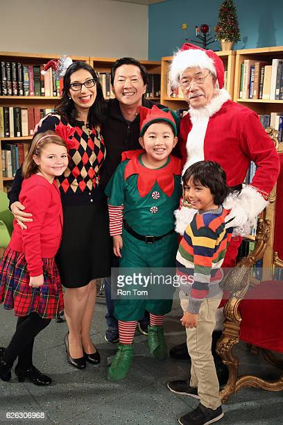 "Park Family Christmas"" - Allison wants to show her fun side to her Welltopia coworkers and offers the Park home for the office holiday party, but Ken..."