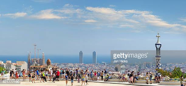 Park Guell in Barcelonia.