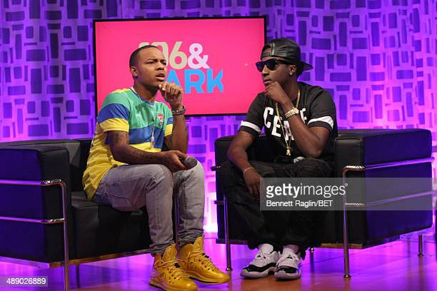 106 Park host Bow Wow and recording artist K Camp attend 106 Park at BET studio on May 7 2014 in New York City