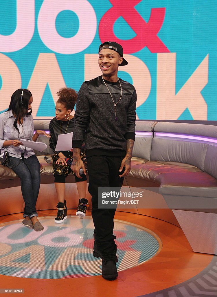 106 & Park host Bow Wow attends 106 & Park at 106 & Park Studio on September 18, 2013 in New York City.