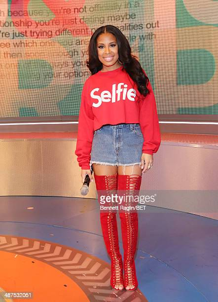 106 Park host Keshia Chante attends 106 Park at BET studio on April 30 2014 in New York City