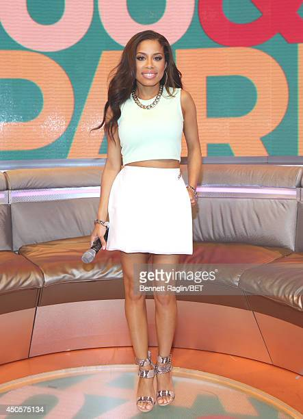 106 Park host Keshia Chante attends 106 Park at BET studio on June 11 2014 in New York City