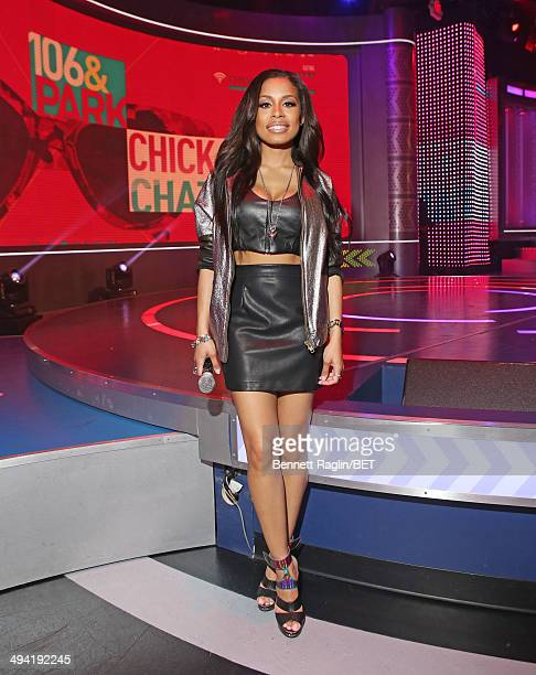 106 Park host Keshia Chante attends 106 Park at BET studio on May 27 2014 in New York City